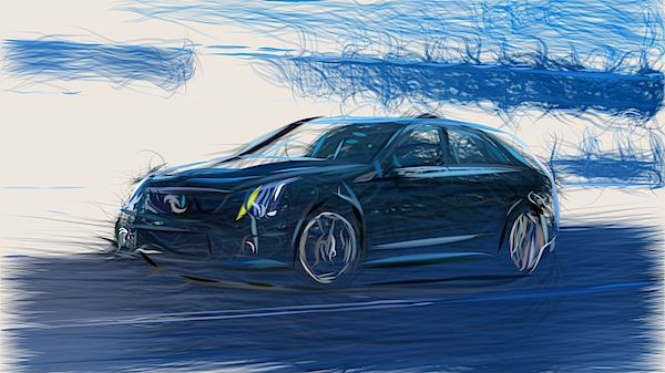 Cts-V Wagon For Sale >> Cadillac Cts V Sport Wagon Draw Iphone 11 Pro Case