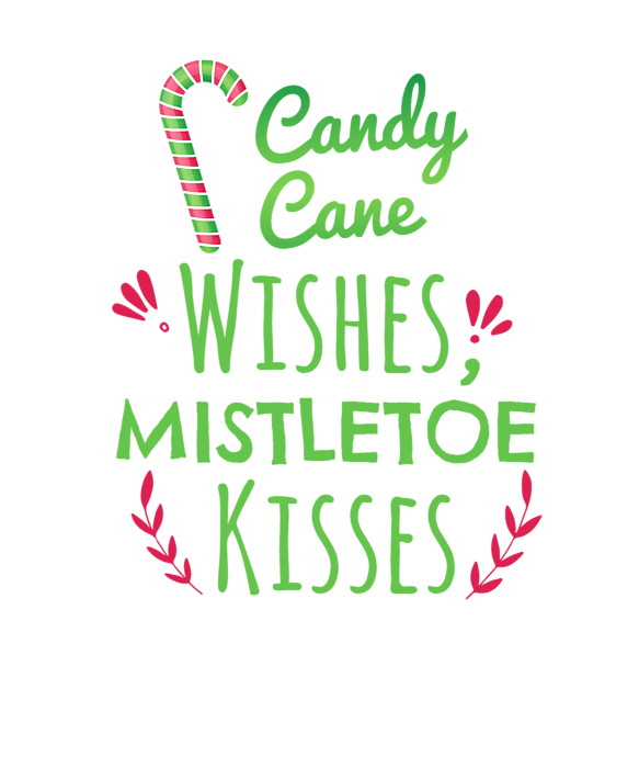 Candy Cane Wishes Mistletoe Kisses Duvet Cover For Sale By Kaylin Watchorn