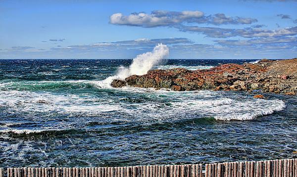 Tatiana Travelways - Cape Bonavista coastline fence 6