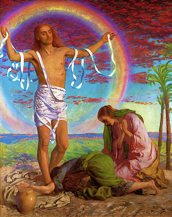 William Holman Hunt - Christ and the two Marys - Digital Remastered Edition