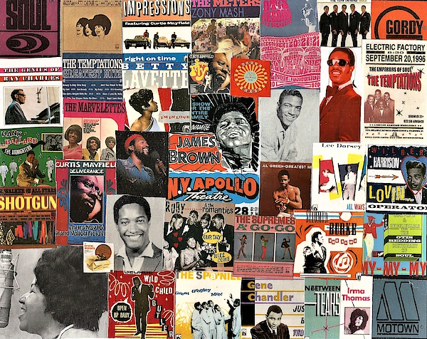 Doug Siegel - Classic Soul Collage 1