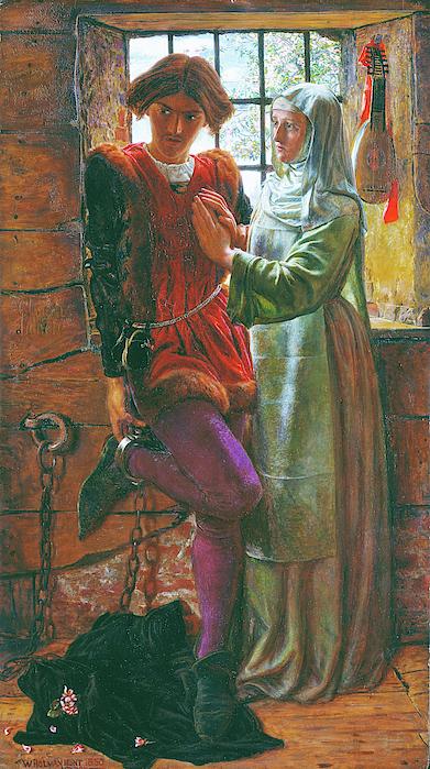 William Holman Hunt - Claudio and Isabella - Digital Remastered Edition