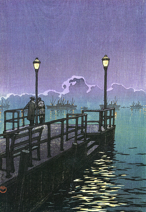 Kawase Hasui - Collection of Scenic Views of Japan, Hachinohe - Digital Remastered Edition