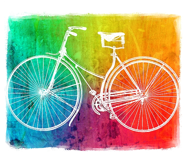 ArtMarketJapan - Colorful Bicycle
