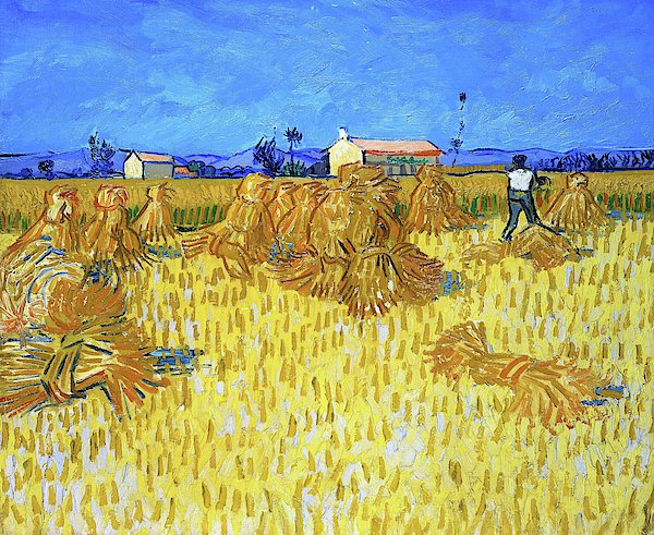 Vincent van Gogh - Corn Harvest in Provence - Digital Remastered Edition