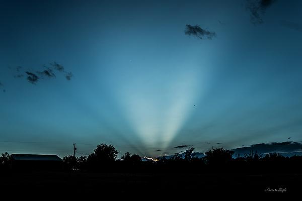 Karen Slagle - Crepuscular Rays at Sunset