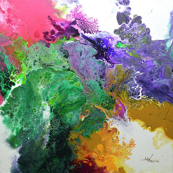 Sally Trace - Delicate Canvas Three