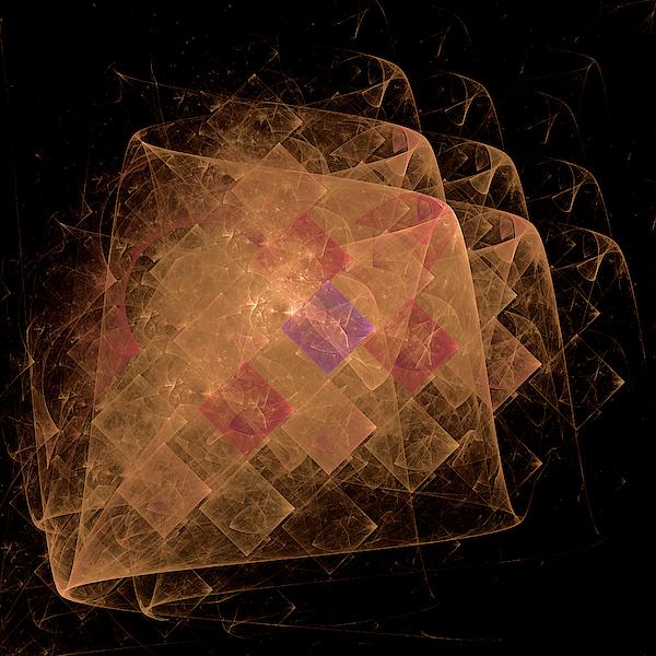 Diamond Aurora Digital Art