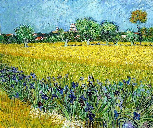 Vincent van Gogh - Digital Remastered Edition - View of Arles with Irises in the Foreground
