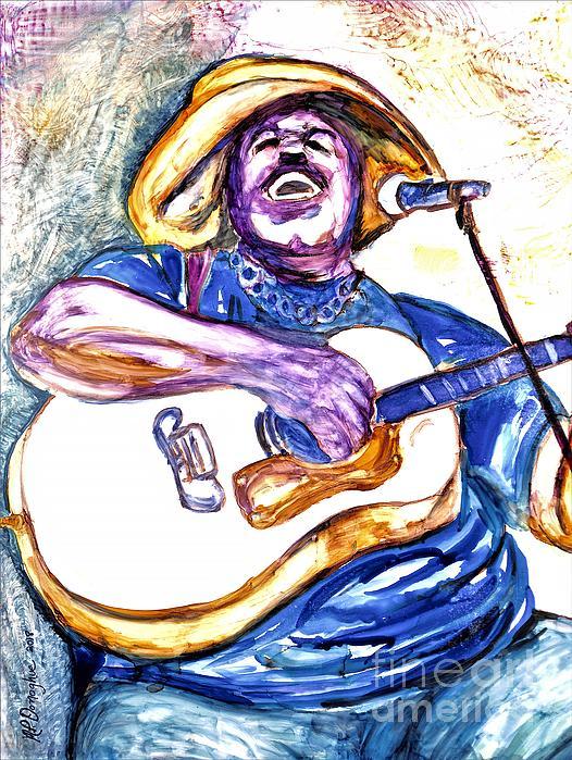 Patty Donoghue - E J Mathews Cajun Blues Artist