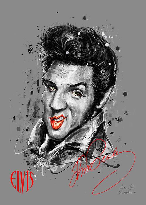 Elvis Digital Art