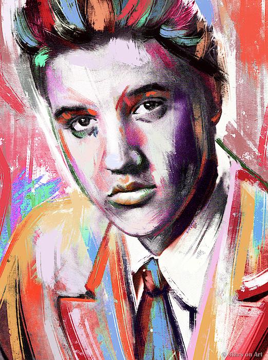 Elvis Presley Painting Painting