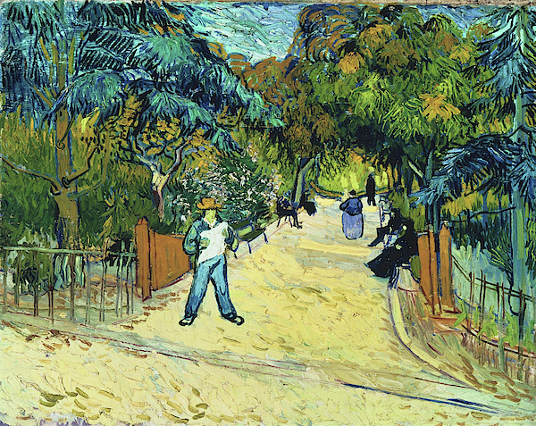 Vincent van Gogh - Entrance to the Public Gardens in Arle - Digital Remastered Edition