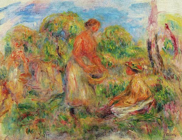 Pierre-Auguste Renoir - Farmer woman - Digital Remastered Edition