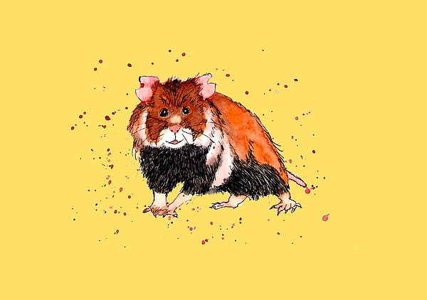 Field Hamster Painting