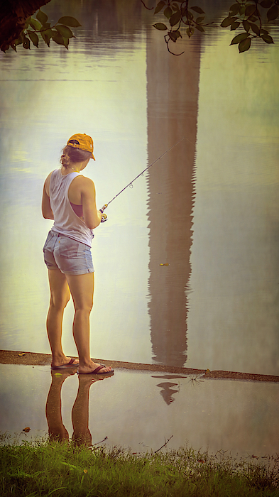 Joan Carroll - Fishing in Washington DC II