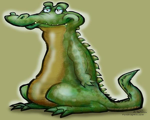 Gator Digital Art