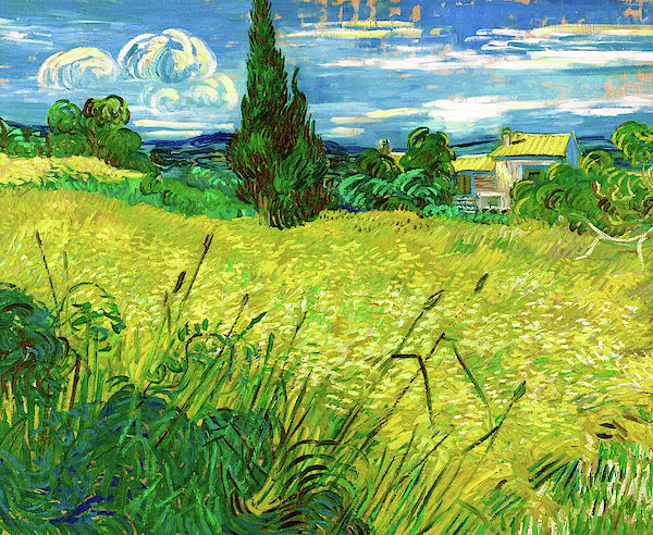 Vincent van Gogh - Green Field - Digital Remastered Edition