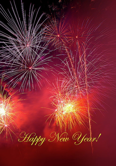 Happy New Year Fireworks 44