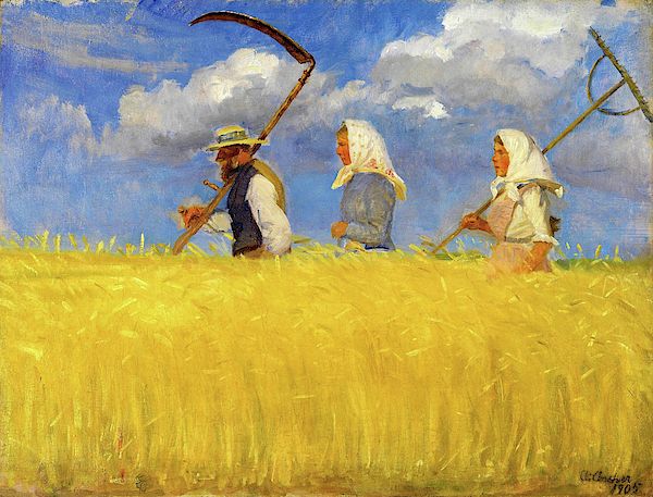 Anna Ancher - Harvesters - Digital Remastered Edition
