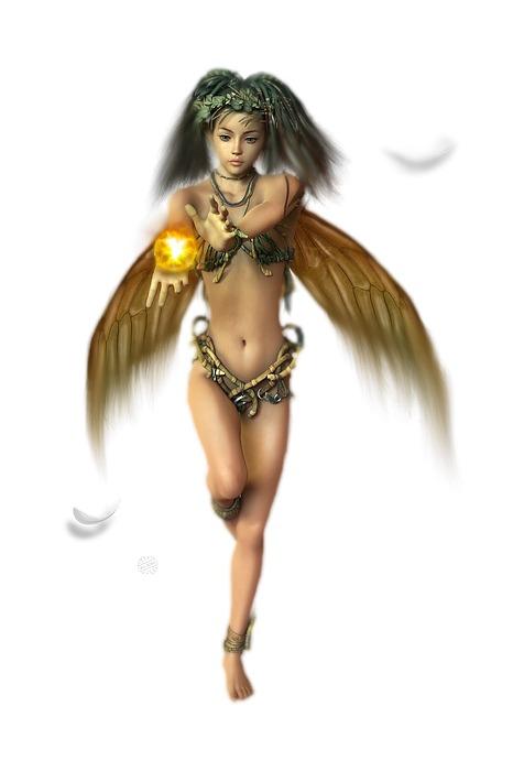 Healing Fairy 01 Digital Art