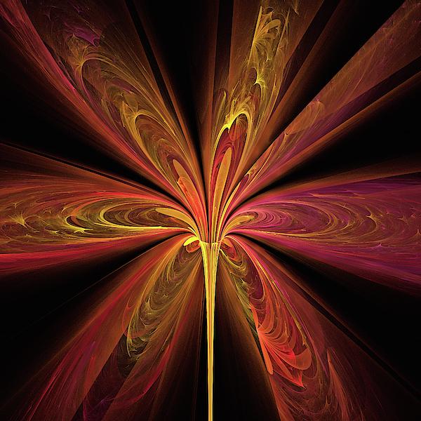 High Spirited Lily Digital Art