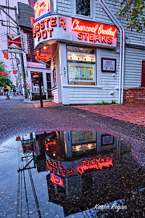 Karen Regan - Iconic Provincetown Reflection