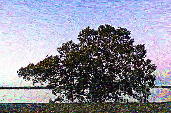 Trudee Hunter - Impressionist Tree scape Torbul