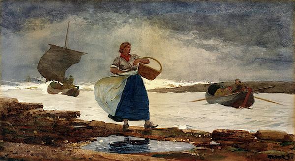 Winslow Homer - Inside the Bar - Digital Remastered Edition