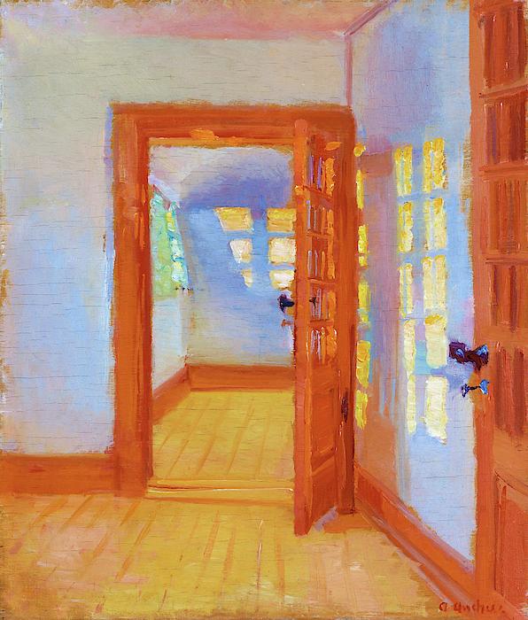 Anna Ancher - Interior, Brondum