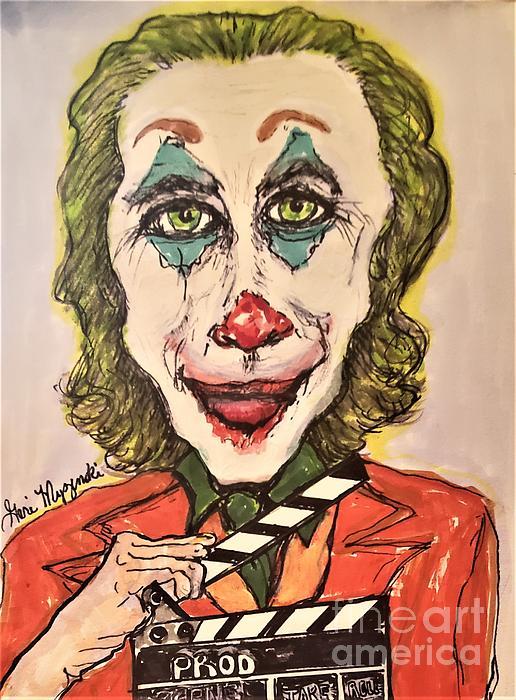 Art Print Joker Joaquin Phoenix Drawing