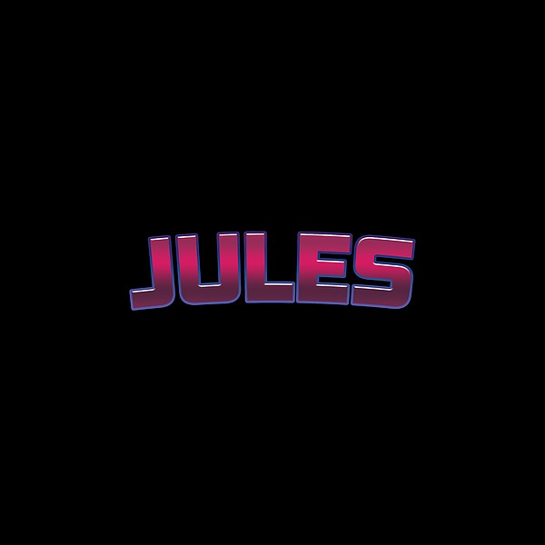 Jules #jules Digital Art
