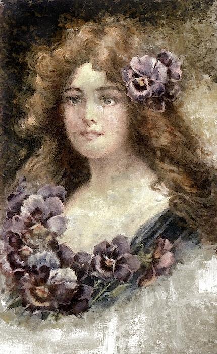 Mario Carini - Lady of Flowers