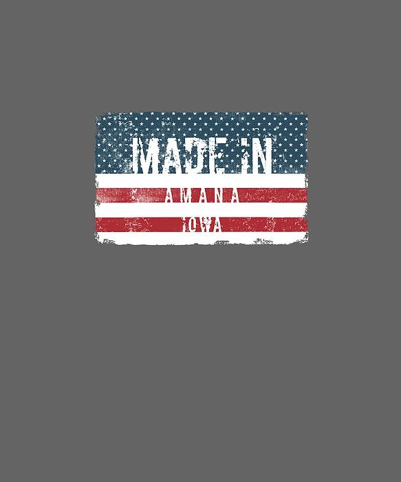 Made In Amana, Iowa Digital Art