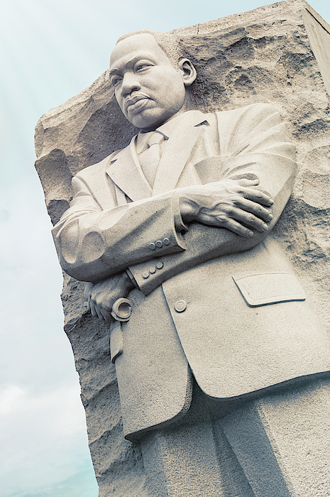 Joan Carroll - Martin Luther King Jr Memorial Washington DC