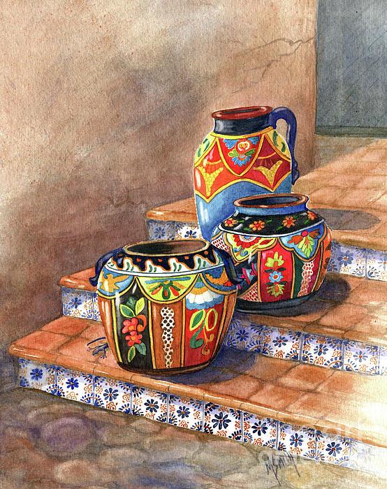 Marilyn Smith - Mexican Pottery Still Life