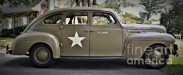 Suzanne Wilkinson - Military Car