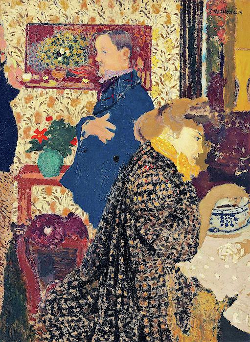 Edouard Vuillard - Misia and Vallotton in Villeneuve - Digital Remastered Edition
