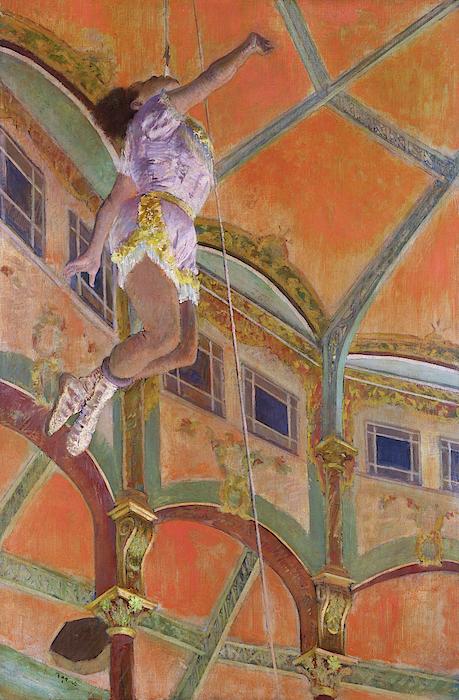 Edgar Degas - Miss La La at the Cirque Fernando - Digital Remastered Edition