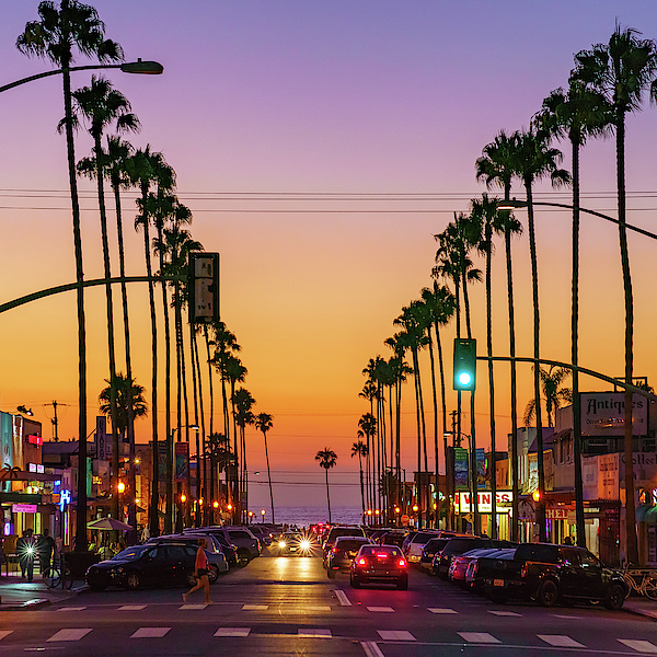 McClean Photography - Newport Avenue in Ocean Beach, San Diego by McClean Photography