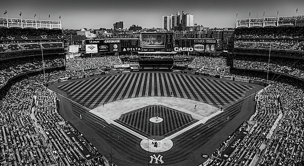 Susan Candelario - NY Yankees Stadium BW