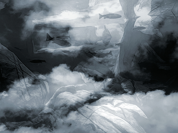 Abstract Angel Artist Stephen K - Oceanic Visions