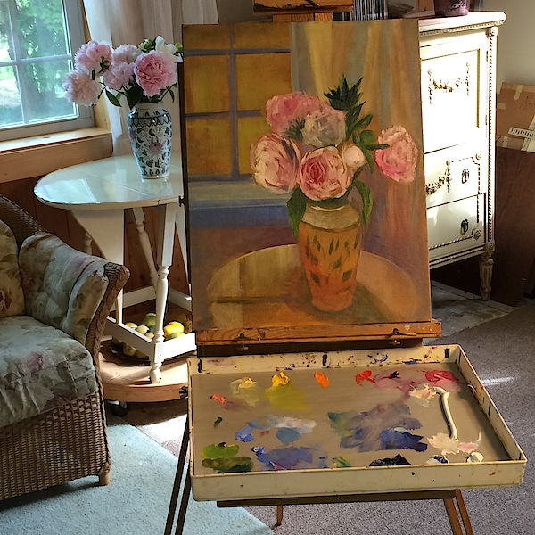 Jane Collins - On The Easel Today