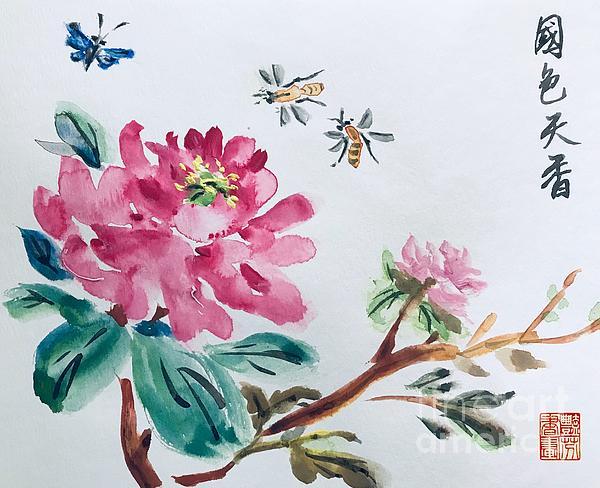 Lavender Liu - Peonies