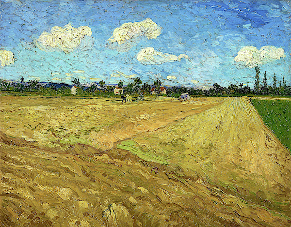 Vincent van Gogh - Ploughed fields, The furrows - Digital Remastered Edition