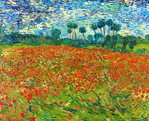 Vincent van Gogh - Poppy Field - Digital Remastered Edition