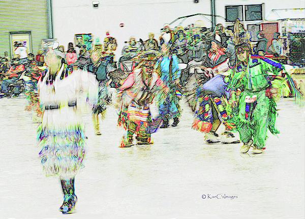 Kae Cheatham - Powwow Abstraction #1