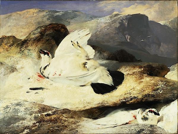 Edwin Henry Landseer - Ptarmigan in a Landscape - Digital Remastered Edition