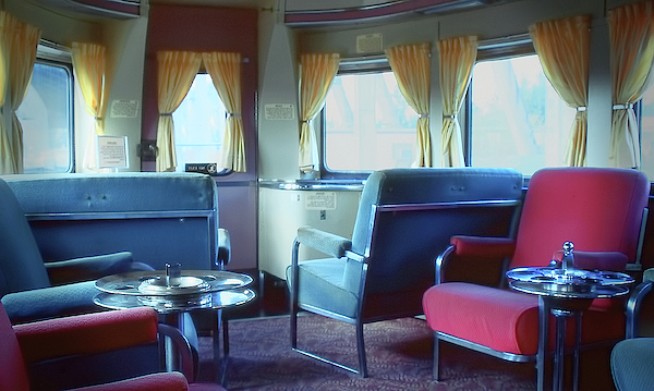 Rudy Umans - Pullman Train Car interior