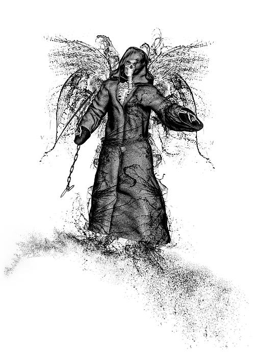 Reaper Mixed Media